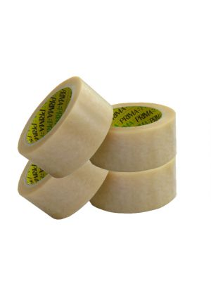 12 x Pro Plast Branded /® Low Noise Clear Packing Parcel Tape 48mm x 66M