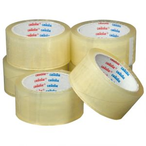 Parcel Packing Tape YELLOW Coloured Packaging 48mm x 66m FREE P/&P x 1 ROll